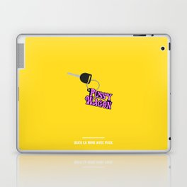 BUCK CA RIME AVEC FUCK ( Kill Bill ) Laptop & iPad Skin