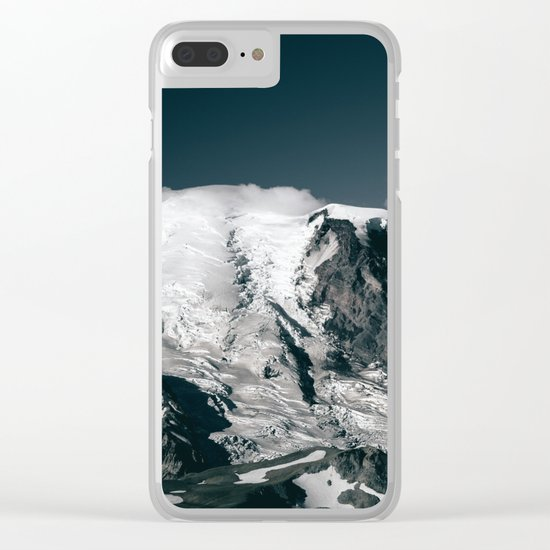 Mount Rainier V Clear iPhone Case