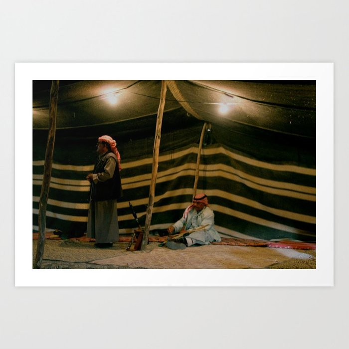 Bedouin Tents Art Print