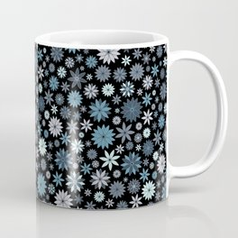 Night Sky of Twinkling Flowers Coffee Mug