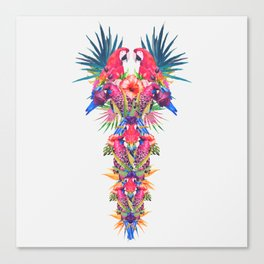 Parrot Kingdom Canvas Print