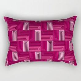 Op Art 60 Rectangular Pillow