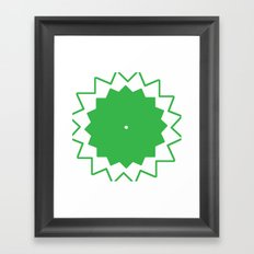 Rotation Framed Art Print