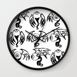 Fleye Pattern Wall Clock