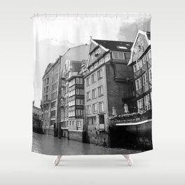 Nikolaifleet Hamburg Shower Curtain