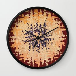 Eyes, people and history of Mama Africa. Wall Clock