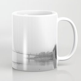 Winter Fog at St. George's Quay, Lancaster Coffee Mug