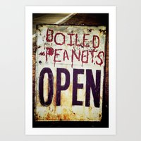 peanuts Art Prints featuring Peanuts by BrandonAddisArt