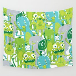 Done with Monster School! Wall Tapestry