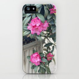 Flowers Are A Big Part Of Happiness iPhone Case