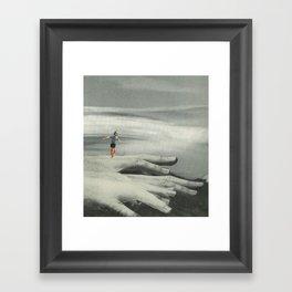 """3am of the soul #9 """"shaky hands"""" Framed Art Print"""