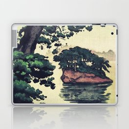Autumn Rain in Yama Laptop & iPad Skin