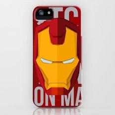 B*tch i'm ironman Slim Case iPhone (5, 5s)