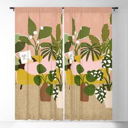 Allow Yourself To Grow Blackout Curtain