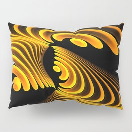 Golden Curl Pillow Sham