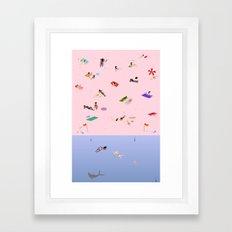 Coogee Beach Framed Art Print