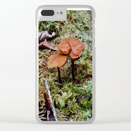 Little Worlds Inside our World Clear iPhone Case