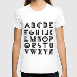 Deco Alphabet T-shirt
