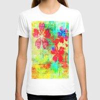 garden T-shirts featuring Garden  by JuniqueStudio