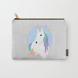 Unicorn portrait Carry-All Pouch