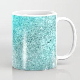 Aqua Teal Ocean Glitter #1 #shiny #decor #art #society6 Coffee Mug