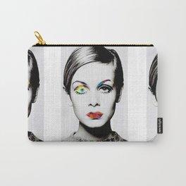 Twiggy Pop Art Carry-All Pouch
