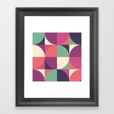 Quarters Quilt 3 Framed Art Print
