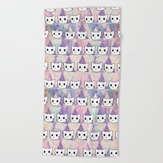 cats-396 Beach Towel