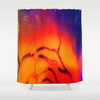 valentina Shower Curtains featuring Valentina by Mirabella Market