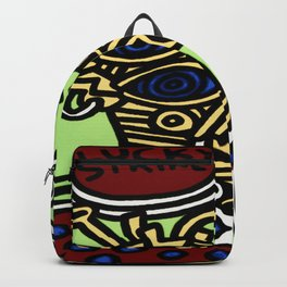 K. Allen Haring - Equal Rights - Popart Legend - Graffiti - Lucky Strike 1987 Backpack
