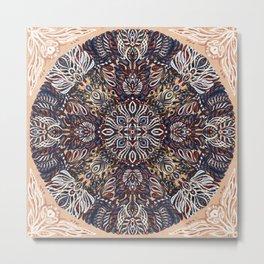 Inner Place Mandala Metal Print