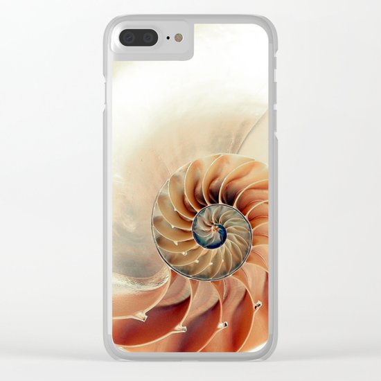 Shell of life Clear iPhone Case