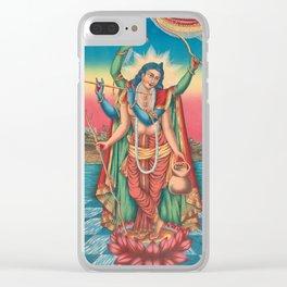 Shri Shri Guranga Avatara - Vintage Krishna Art Clear iPhone Case