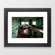 The Workshop Framed Art Print