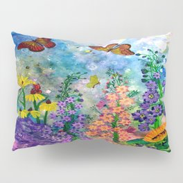 Butterfly Garden Pillow Sham