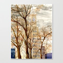 Lamar Life - Downtown Jackson, MS Canvas Print