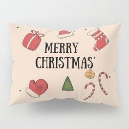 New Year, Cristmas, winter holidays Pillow Sham