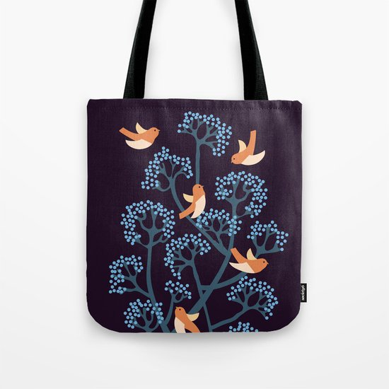 Birds Are singing Tote Bag