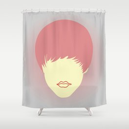 Young belieber Shower Curtain