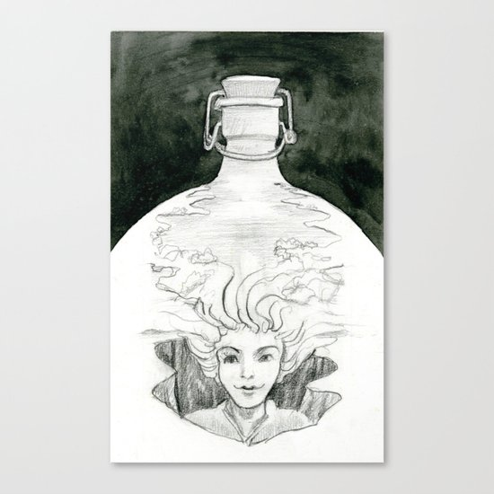 Bottled Canvas Print