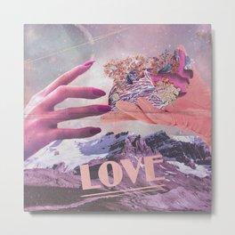 inlove Metal Print