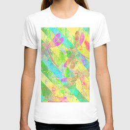 A Dragonflies and Stripes Y T-shirt