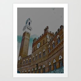 Piazza Del Campo Art Print