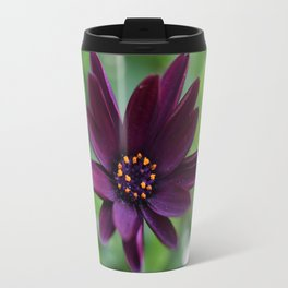 Purple Osteospermum Flower (Marco Close-Up) Travel Mug