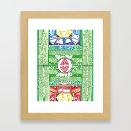 Jogo Bonito Framed Art Print