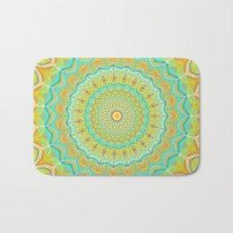 Citrus Burst - Mandala Art Bath Mat