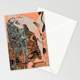 Blushing Cheeks & Sweet Fruits Stationery Cards