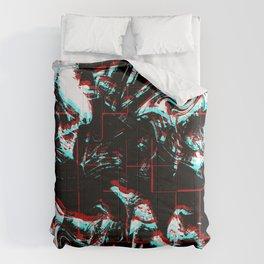 Black Crack Comforters