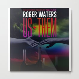 Roger Water US+THEM Metal Print