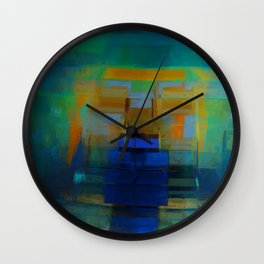 Abstract Composition 200 Wall Clock